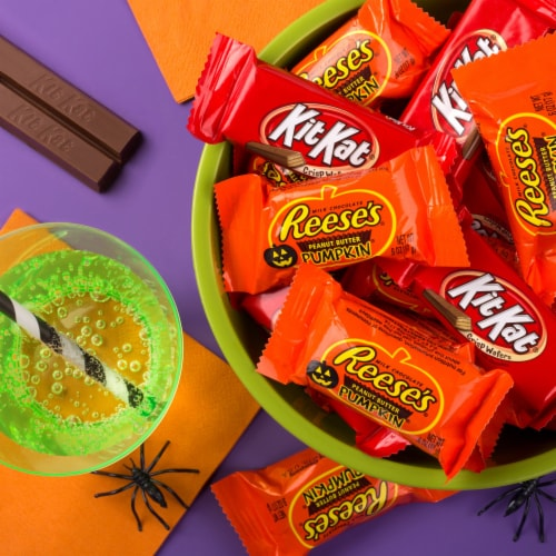 Reese's and Kit Kat® Lovers Snack Size Candy Assortment Perspective: top