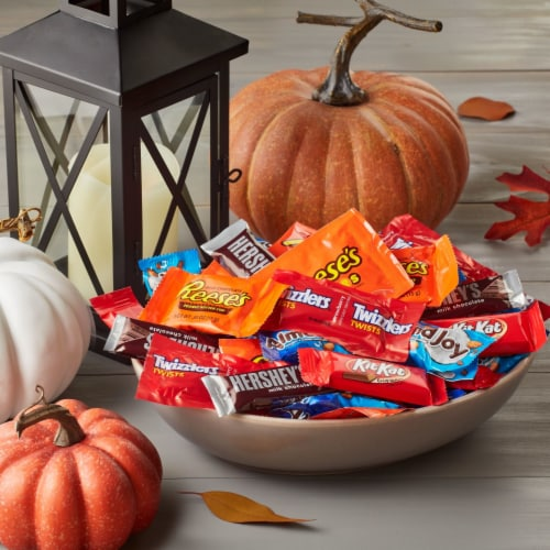 Hershey's All Time Greats Chocolate and Sweets Snack Size Candy Assortment Perspective: top