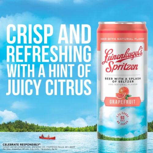 Leinenkugel's Spritzen Grapefruit Beer Perspective: top