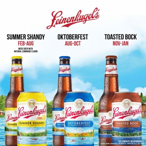 Leinenkugel's® Oktoberfest German Style Beer Perspective: top