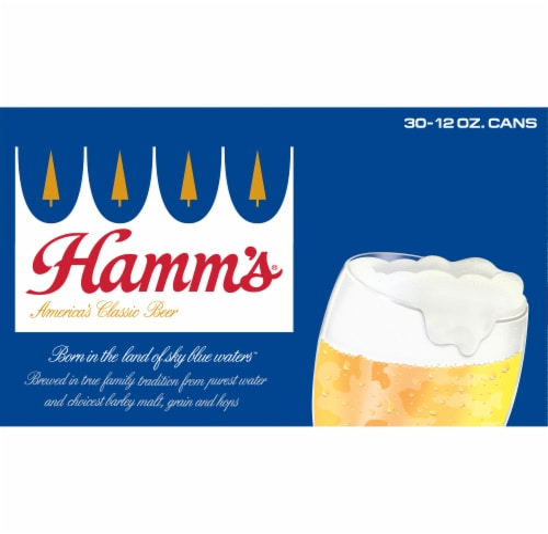Hamm's® America's Classic Premium Lager Beer Perspective: top