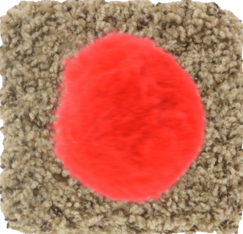 North American Pet Cat Toy on Spring Round Base Perspective: top