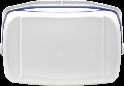 Igloo® Contour™ Blue Cooler Perspective: top