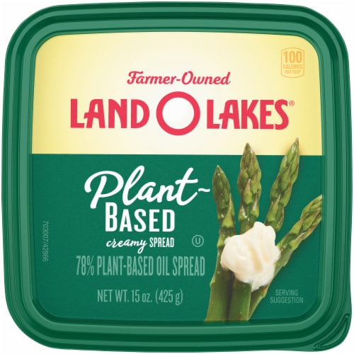 Land O Lakes Plant-Based Creamy Spread Perspective: top