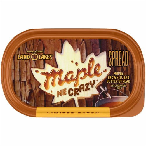 Land O' Lakes® Maple Me Crazy Maple Brown Sugar Butter Spread Perspective: top