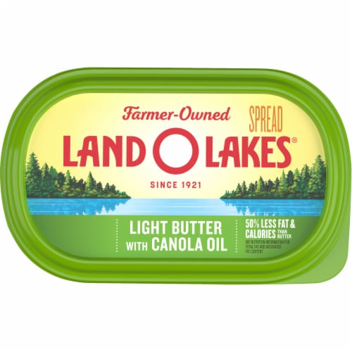 Land O' Lakes Canola Oil Light Butter Spread Perspective: top