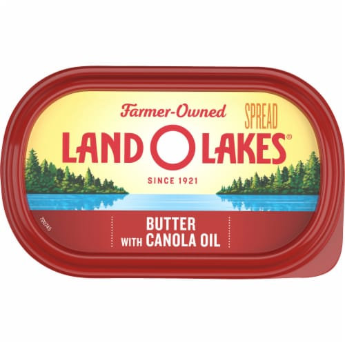 Land O' Lakes® Canola Oil Butter Spread Perspective: top