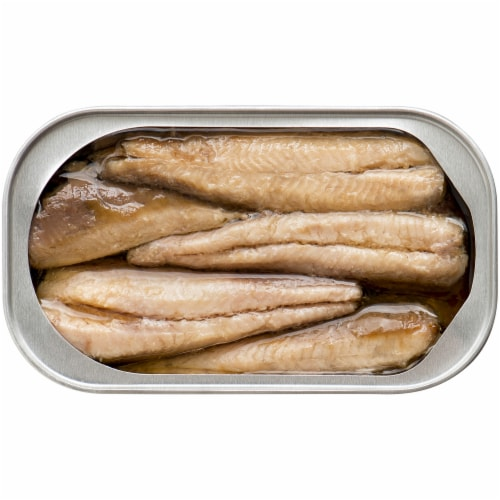 King Oscar Wild Caught Skinless & Boneless Sardines in Olive Oil Perspective: top