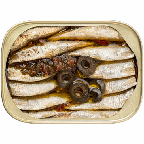 King Oscar Wild Caught Mediterranean Style Sardines Perspective: top
