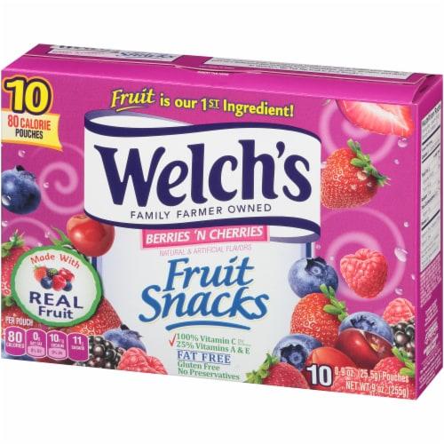 Welch's® Berries 'n Cherries Fruit Snacks Perspective: top