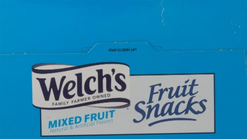 Welch's Mixed Fruit Fruit Snacks Perspective: top