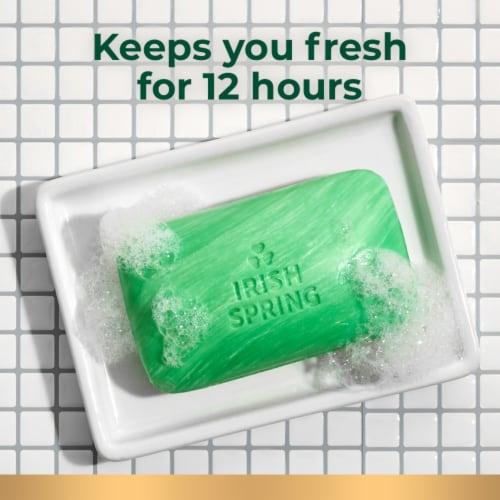 Irish Spring Original Deodorant Soap Bars Perspective: top