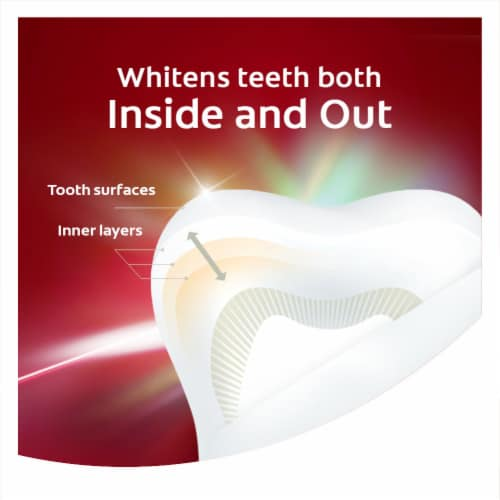 Colgate Optic White Renewal  Enamel StrengthToothpaste Perspective: top