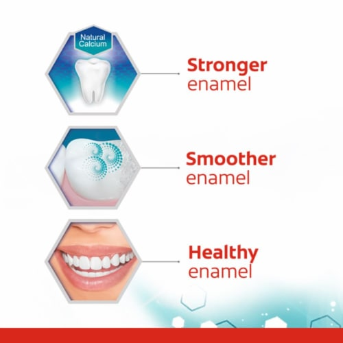 Colgate Cavity Protection Original Flavor Toothpaste Perspective: top