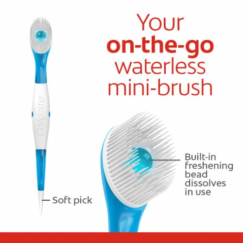 Colgate Wisp Max Fresh Peppermint Portable Mini-Brushes Perspective: top