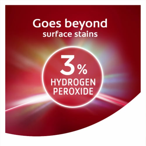 Colgate Optic White Renewal High Impact White Teeth Whitening Toothpaste Perspective: top