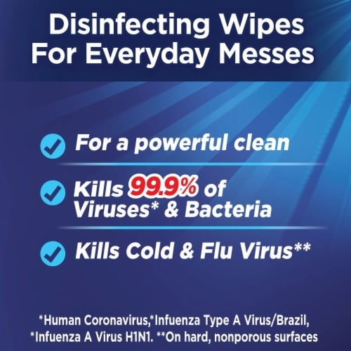 Fabuloso Lavender Complete Disinfecting Wipes Perspective: top