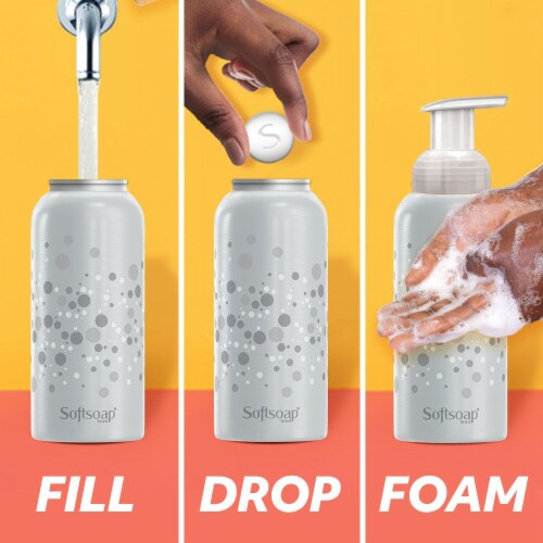 Softsoap Fresh Coconut Foaming Hand Soap Tablets Refills Perspective: top
