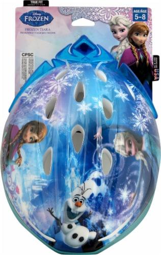 Bell Frozen™ Tiara Child Bike Helmet - Blue Perspective: top