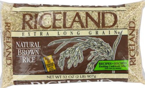 Riceland Natural Brown Rice Perspective: top