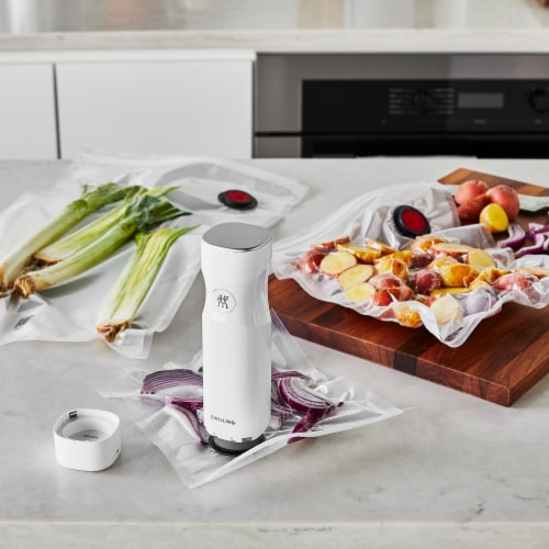 ZWILLING Fresh & Save 3-pc Vacuum Sealer Bags, Sous Vide Bags, Meal Prep - Large (Set of 3) Perspective: top