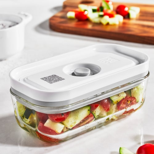 ZWILLING Fresh & Save Glass Airtight Food Storage Container, Meal Prep Container - Small Perspective: top