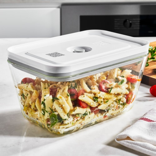 ZWILLING Fresh & Save Glass Airtight Food Storage Container, Meal Prep Container - Large Perspective: top
