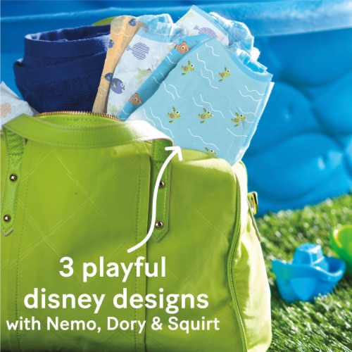 Huggies Little Swimmers Size 3 Swim Diapers Perspective: top