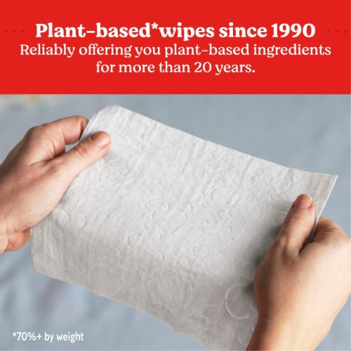 Huggies Natural Care Sensitive Unscented Baby Wipes Perspective: top