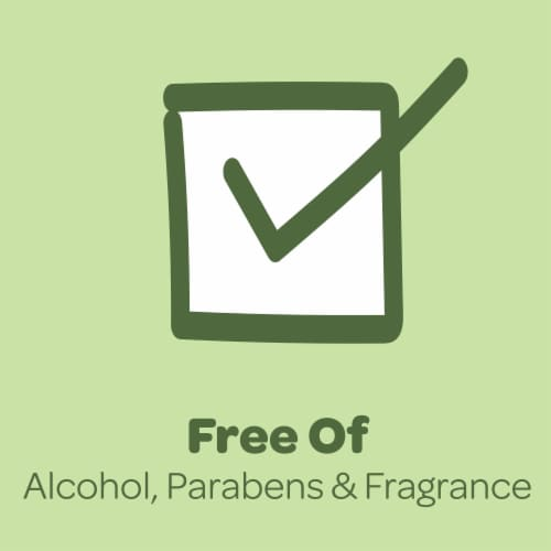 Huggies Natural Care Aloe & Vitamin E Baby Wipes Flip-Top Pack Perspective: top