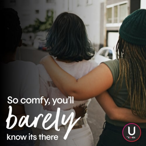 U by Kotex Barely There Light Absorbency Unscented Panty Liners Perspective: top
