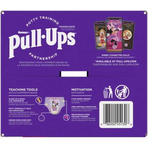 Pull-Ups Learning Designs Girls 4T-5T Training Pants Perspective: top