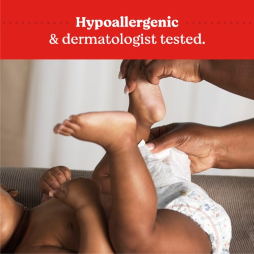 Huggies Simply Clean Fragrance Free Baby Wipes Perspective: top