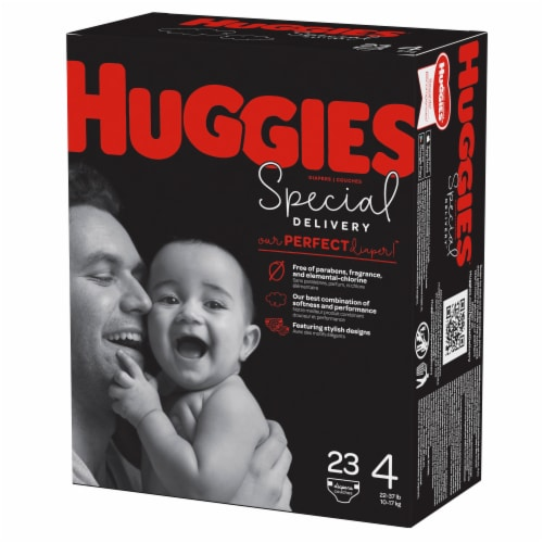 Huggies Special Delivery Size 4 Baby Diapers Perspective: top