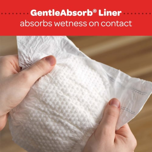 Huggies Little Snugglers Size 1 Baby Diapers Perspective: top