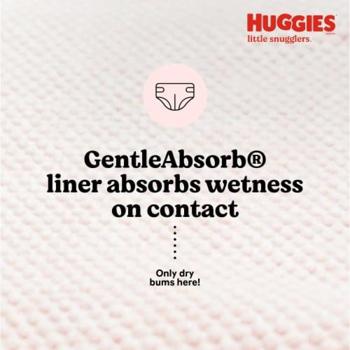 Huggies Little Snugglers Newborn Baby Diapers Perspective: top