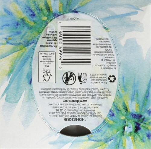 Kleenex® Soothing Lotion with Aloe & Vitamin E Facial Tissues Perspective: top