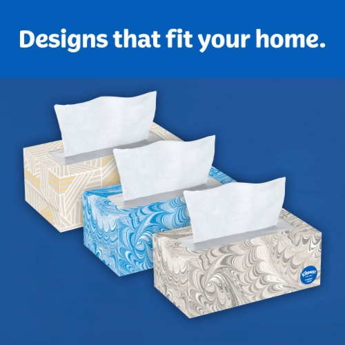 Kleenex Trusted Care Everyday Facial Tissues Perspective: top