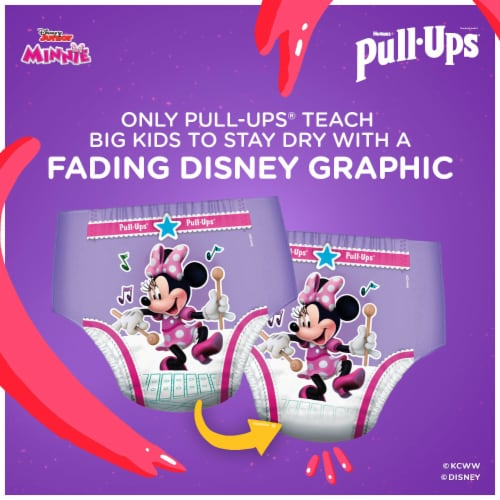 Pull-Ups Learning Designs 4T-5T Girls' Training Pants Perspective: top