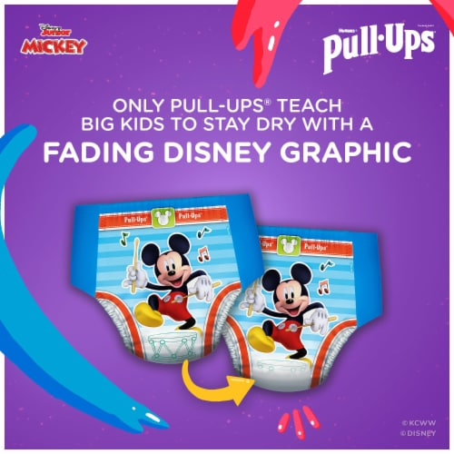Pull-Ups Learning Designs 4T-5T Boys' Training Pants Perspective: top