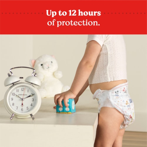 Huggies Snug and Dry Size 5 Diapers Perspective: top