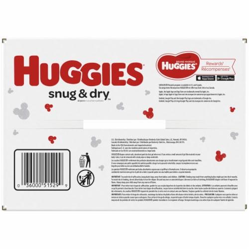 Huggies Snug and Dry Newborn Baby Diapers Perspective: top
