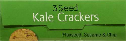 R.W. Garcia 3 Seed Kale Crackers Perspective: top