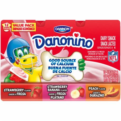 Dannon® Danonino Power Packed Yogurt Cups Variety Pack Perspective: top
