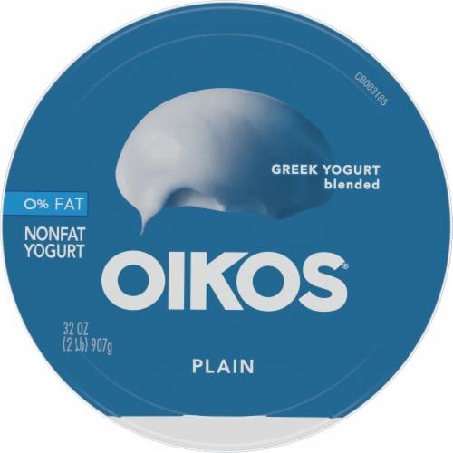 Oikos® Plain Greek Yogurt Perspective: top