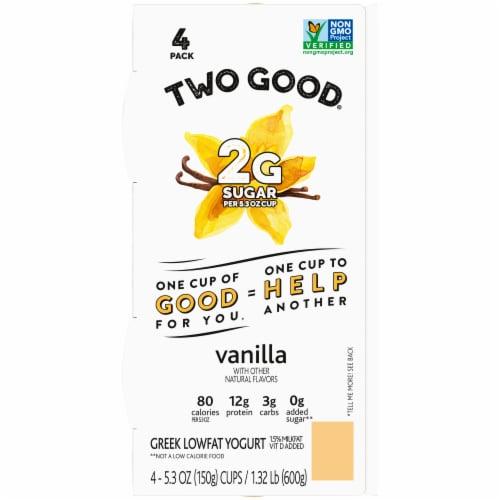 Two Good™ Vanilla Lowfat Greek Yogurt Perspective: top