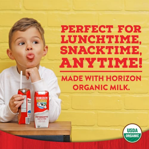 Horizon Organic Whole Milk Perspective: top