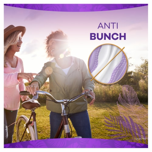 Always Xtra Protection Daily Liners Extra Long Unscented Perspective: top