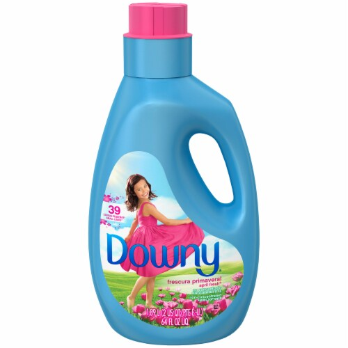 Downy April Fresh Liquid Fabric Softener Perspective: top