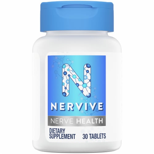 Nervive Nerve Health Dietary Supplement Tablets Perspective: top